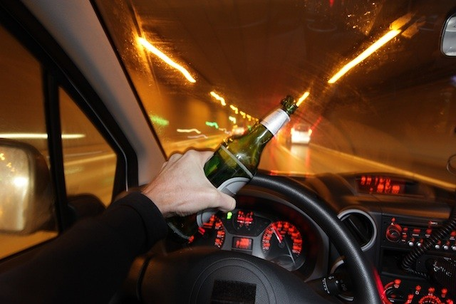 Mixing alcohol and drug while driving
